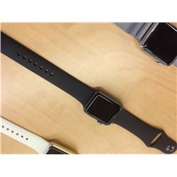 APPLE WATCH SERIES 1 38MM, SPACE BLACK, SERIAL NUMBER FH7PFCQFG99F, *LOCKED IN DEMO MODE,
