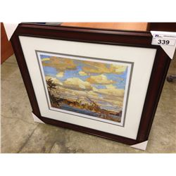 "TOM THOMSON ""RAGGED LAKE"" FRAMED LIMITED EDITION PRINT, 300/950"