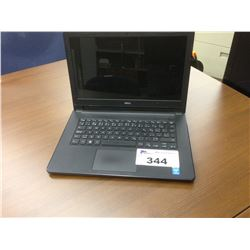 DELL 13'' NOTEBOOK COMPUTER, NO POWER SUPPLY, NO HARD DRIVE, NOT TESTED