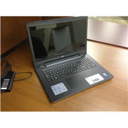 DELL 15'' NOTEBOOK COMPUTER, NO POWER SUPPLY, NO HARD DRIVE, NOT TESTED