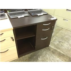 TOWNSHIP CHOCOLATE 30'' MULTIDRAWER STORAGE UNIT