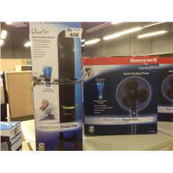 HONEYWELL 40'' FULL ROOM POWER FAN WHOLE ROOM STAND FAN