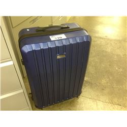 KENNETH COLE BLUE 3 PIECE HARD SHELL LUGGAGE SET