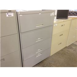 4 DRAWER LATERAL FILE CABINET