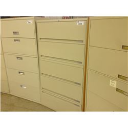 5 DRAWER LATERAL FILE CABINET