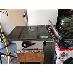 ROCKWELL - BEAVER TABLE SAW