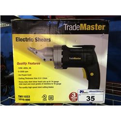 TRADEMASTER ELECTRIC SHEARS
