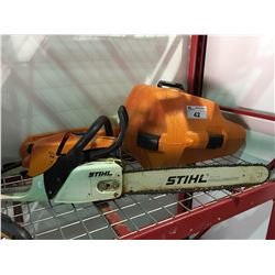 STIHL MS270 CHAINSAW WITH CASE