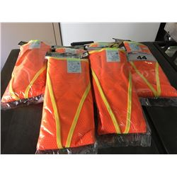 GROUP OF 6 FIXMAN PROFESSIONAL SAFETY VESTS