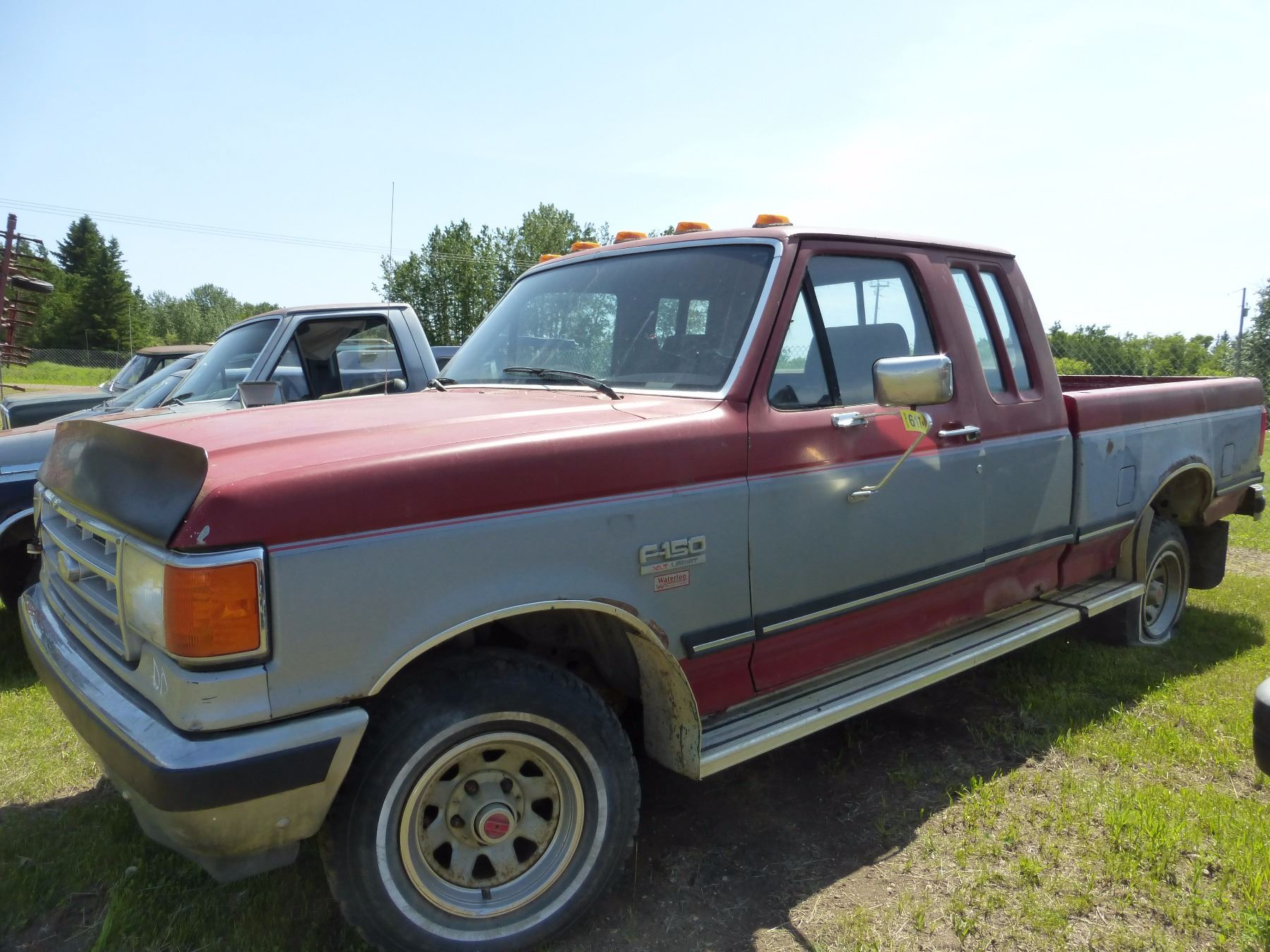 Image 1 1988 ford f150 lariat extended cab truck