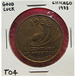 Good Luck Chicago, 1933 & Syracuse Plow Co. $30-50