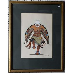 KIOWA PAINTING (MOMADAY)