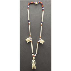 INUIT NECKLACE HAND INUIT NECKLACE
