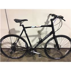 BLACK TREK SEVEN THREE 24 SPEED HYBRID WITH FULL DISC BRAKES