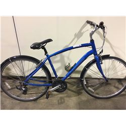 BLUE NORCO YORKVILLE 21 SPEED HYBRID BIKE