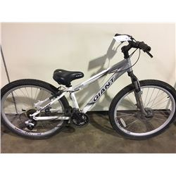 GREY GIANT YUKON 24 SPEED FRONT SUSPENSION MOUNTAIN BIKE WITH FULL DISC BRAKES