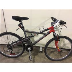 GREY MARIN ALPINE TRAIL 24 SPEED FULL SUSPENSION MOUNTAIN BIKE