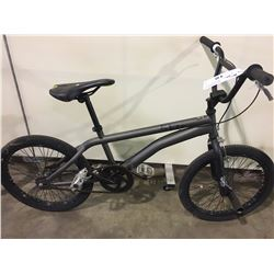 GREY SINGLE SPEED BMX BIKE