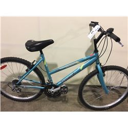 BLUE TRIUMPH CHALLENGER 21 SPEED MOUNTAIN BIKE