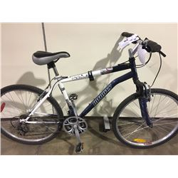 BLUE INFINITY MERCURY 21 SPEED FRONT SUSPENSION MOUNTAIN BIKE