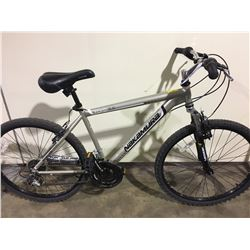GREY NAKAMURA ECKO 18 SPEED FRONT SUSPENSION MOUNTAIN BIKE