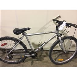 2 BIKES: WHITE NAKAMURA MOUNTAIN BIKE & GREEN RALEIGH MOUNTAIN BIKE