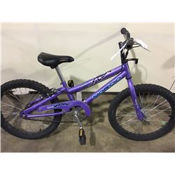 2 BIKES: PURPLE NORCO KIDS BIKE & BLUE SPORTEK MOUNTAIN BIKE