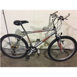 2 BIKES: GREY MINELLI MOUNTAIN BIKE & GREY INFINITY MOUNTAIN BIKE