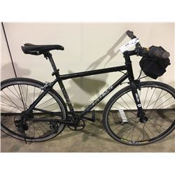 BLACK 7 SPEED HYBRID BIKE