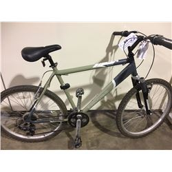 GREY NORCO PINNACLE 21 SPEED FRONT SUSPENSION MOUNTAIN BIKE