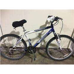 BLUE INFINITY TELLURIDE 21 SPEED FRONT SUSPENSION MOUNTAIN BIKE