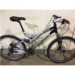 GREY NORCO TORCH 27 SPEED FULL SUSPENSION MOUNTAIN BIKE WITH FULL DISC BRAKES