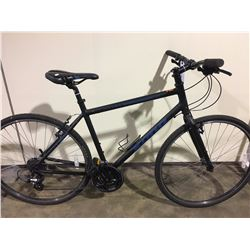 BLACK KONA DEW 24 SPEED HYBRID BIKE