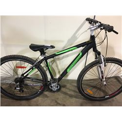 BLACK INFINITY XMTWO 24 SPEED FRONT SUSPENSION MOUNTAIN BIKE
