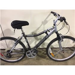 GREY INFINITY HURON 21 SPEED FRONT SUSPENSION MOUNTAIN BIKE
