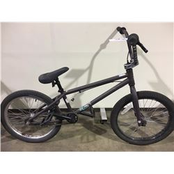 2 BIKES: BROWN BMX BIKE & GREY BMX BIKE