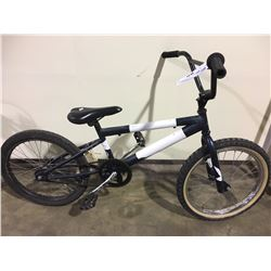 2 BIKES: BLUE BMX BIKE & BLUE SPORTEK KIDS BIKE