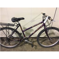 2 BIKES: PURPLE RALEIGH MOUNTAIN BIKE & PURPLE RALEIGH MOUNTAIN BIKE