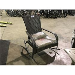 SUNBRELLA MUSKOKA PREMIUM OUTDOOR ROCKING CHAIR