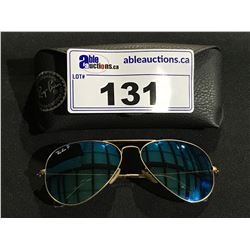 PAIR OF AVIATOR STYLE RAY-BAN SUN GLASSES