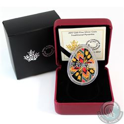 2017 Canada $20 Traditional Pysanka Egg Fine Silver Coin (TAX Exempt)