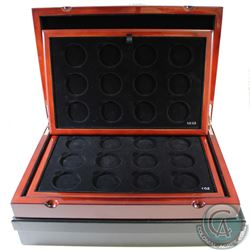EMPTY Royal Canadian Mint Master Club Monogram Collector Display Case with 2 trays