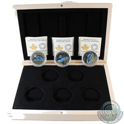 2014-2015 Canada $20 Great Lakes Fine Silver coins with Deluxe Subscription Case (TAX Exempt). You w