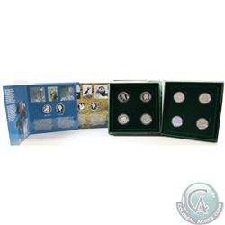 1995 50-cent Birds of Canada 4-coin Set, 1996 50-cent Little Wild Ones 4-coin Set, and 1999 50-cent