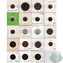 Estate Lot of 37x Russian Coinage Dated 1874-1977. 37pcs