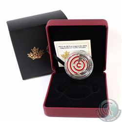 2016 Canada $20 Maple Leaf Maze Fine Silver Coin (TAX Exempt)