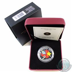 2013 Canada $20 Glass Candy Cane Fine Silver Coin (TAX Exempt)