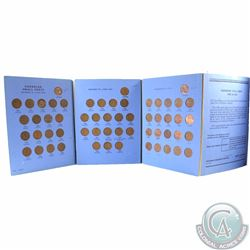1920-1972 Canada 1-cent Collection housed in Vintage Whitman Album. You will receive one of each dat
