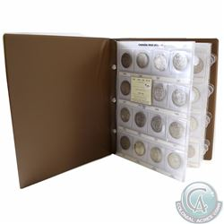 1946-2001 Canada 50-cent Collection housed in a Uni-Safe Album. You will receive one of each date is