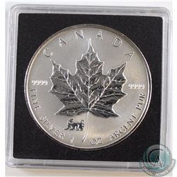 1998 Canada Tiger $5 Privy 1oz Silver Maples (TAX Exempt).